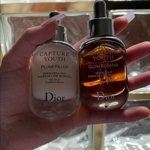 Dior Capture youth: glow booster and plump filler